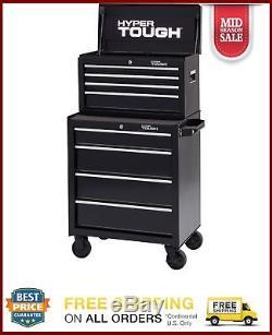 Rolling Tool Cabinet Storage Chest Box Garage Toolbox Organizer Drawer Steel New
