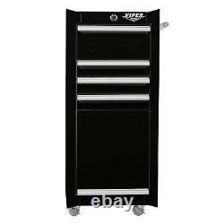 Rolling Tool Chest Salon Cart Purple Cabinet Pro Artist Organizer Storage Box