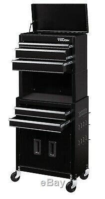 Rolling Tool Chest Storage Cabinet On Wheels 20 Garage Drawer Box Steel Toolbox