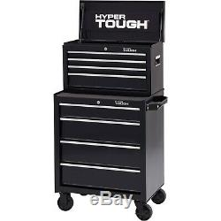 Rolling Tool box 4 Drawer Locking Tool Cabinet on Wheels Storage Chest Mechanics