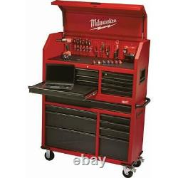 Rolling Workbench Tool Chest Milwaukee Box Roller Cabinet 8 Drawer Storage Wheel