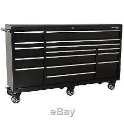 Sealey Heavy-Duty Tool Storage Rollcab Roll Cab 15 Drawer 1845mm PTB183015