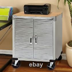Seville Classics UltraHD Rolling Storage Cabinet