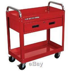 Steel Rolling Tool Cart Box Locking Storage Drawer Chest Mechanic WorkShop Auto