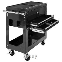 Tool Cart on Wheels Rolling Storage Utility Garage Portable Mechanic Organizer