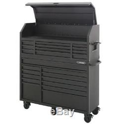 Tool Chest Rolling Cabinet 23 Drawer Storage Garage Organizer Heavy Duty Steel