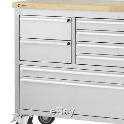 Trinity 66 Stainless Steel Rolling Workbench TLS-4813, NEW SHIPS FROM STORE
