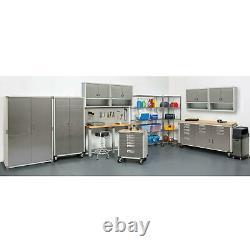 Ultrahd 72 Tall 2-door Rolling Storage Cabinet, 36 W X 18 D X 72 H Gray