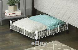 Under Bed Storage Organizer Hidden Container Bins Wheels Box Rolling Drawer