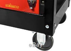 Utility Cart Tool Storage Organizer Wheels Rolling Lockable Heavy-Duty 1-Drawer