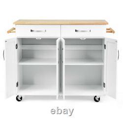 Utility Trolley Island Cart Home& Kitchen Rolling Storage Cart Kitchen Cabinet