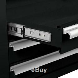 Viper Tool Chests & Cabinets Storage V1804BLR 16-Inch 4-Drawer 18G Steel Rolling