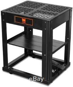 WEN Multi-Purpose Planer Tool Stand Durable Tabletop Storage Shelf Rolling Base