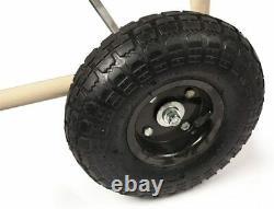 Water Hose Reel Cart 4 Wheel Rolling Gardening Storage Garden Lawn Equipment Kit