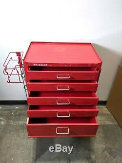 Waterloo Healthcare Stainless Steel Storage Delivery Rolling Medical Crash Cart